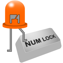 New icon of Num Lock Indicator software appears in version 1.5